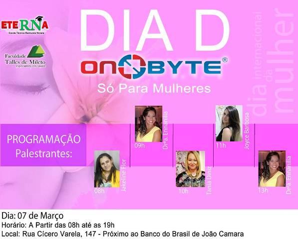 On Byte promove evento em homenagem ao Dia internacional da Mulher